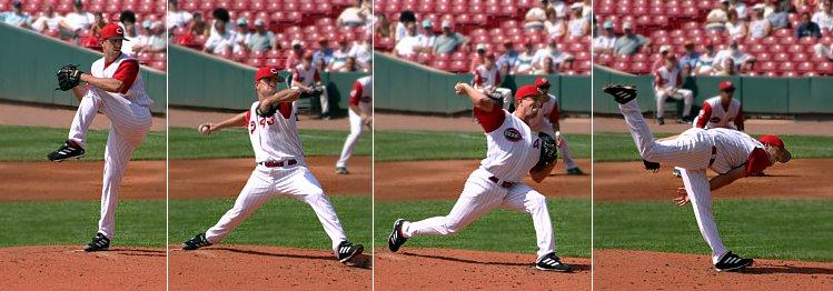 Baseball Pitching Motion