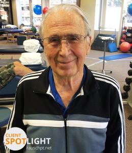 Rausch PT Client Spotlight - Ken Dewhirst