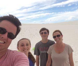 Clarke family photo